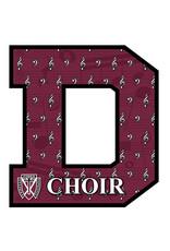 Spirit Signs Maroon Spirit Decor Sign - Choir