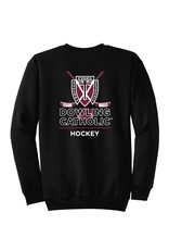Port & Co. Hockey Crew Neck Sweatshirt