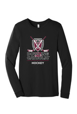 Bella Canvas Hockey Long Sleeve Unisex Tee