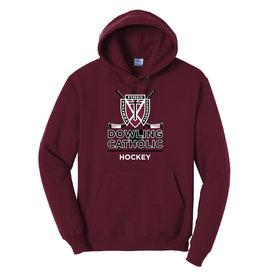 Port & Co. Hockey Hooded Sweatshirt
