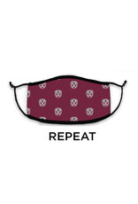 Hane's Maroon Spirit 3-Ply Mask - 4 designs available