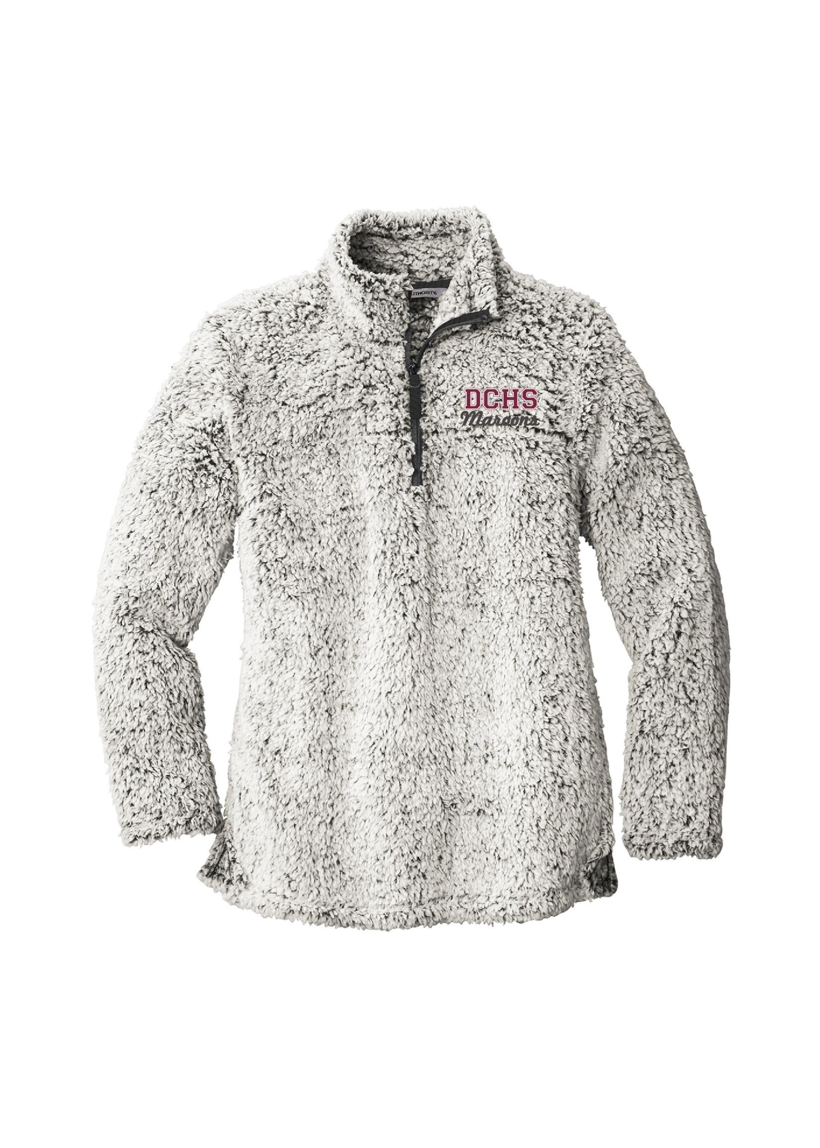 Port & Co. Ladies Cozy 1/4 Zip Fleece