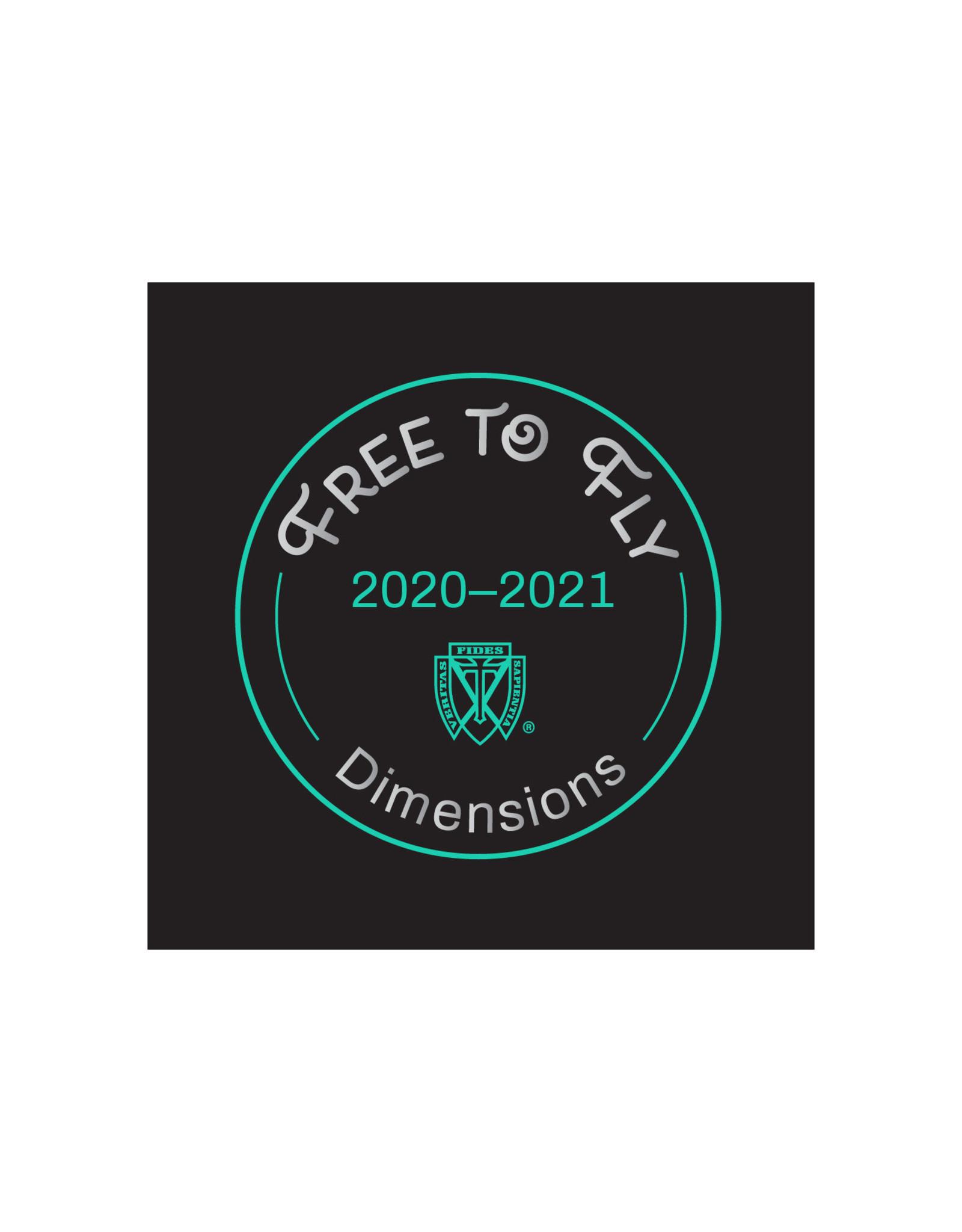 Dimensions 20-21 Commemorative Patch