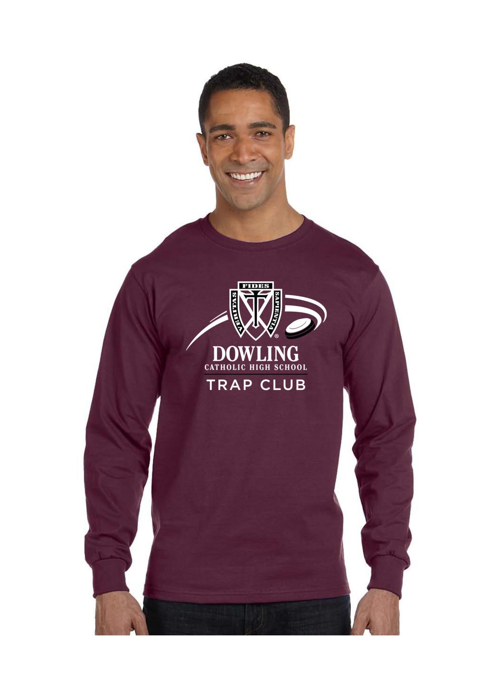 Hane's 2021 Trap Club Hanes Beefy-T - L/S