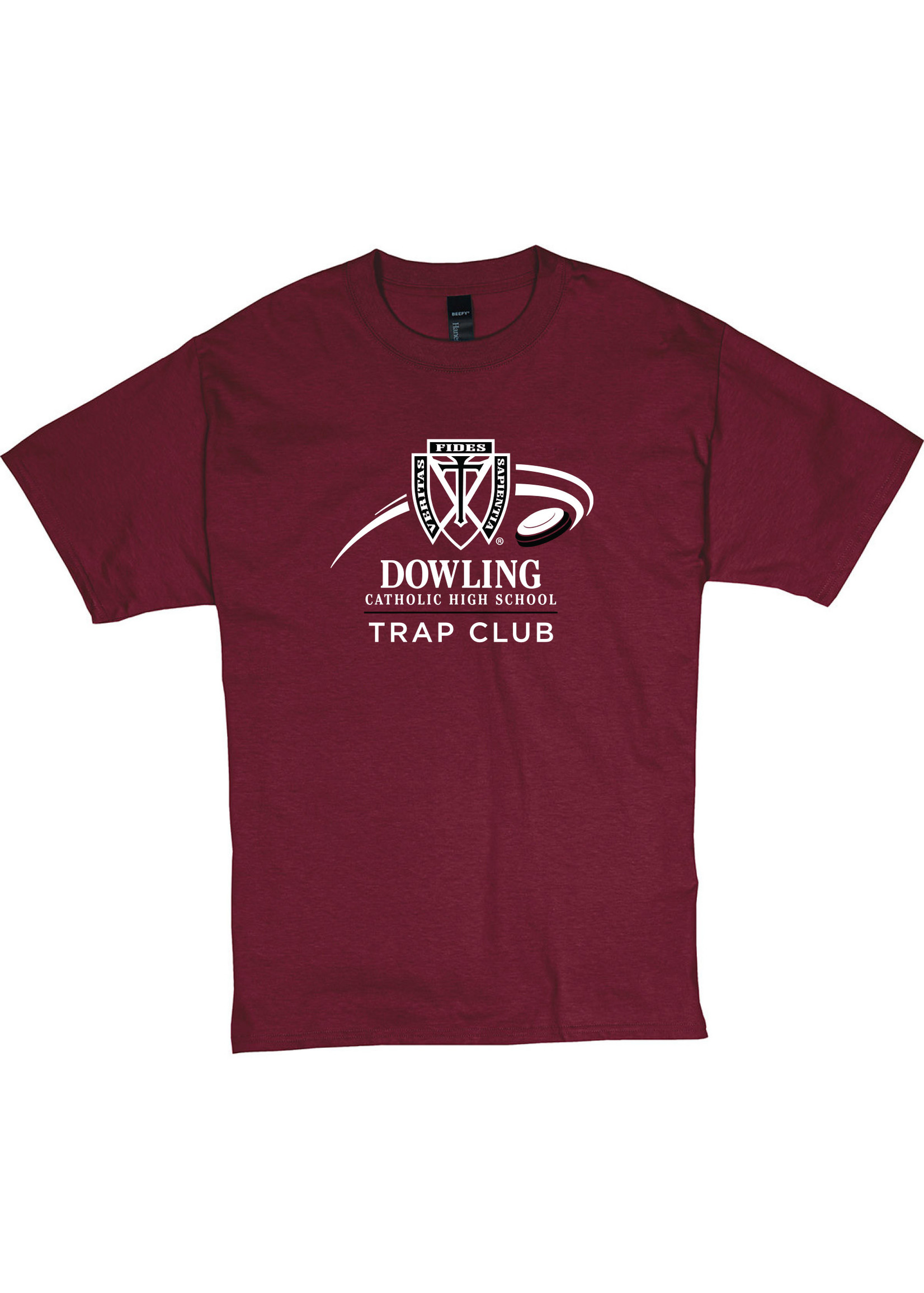 Hane's 2021 Trap Club Hanes Beefy-T - S/S