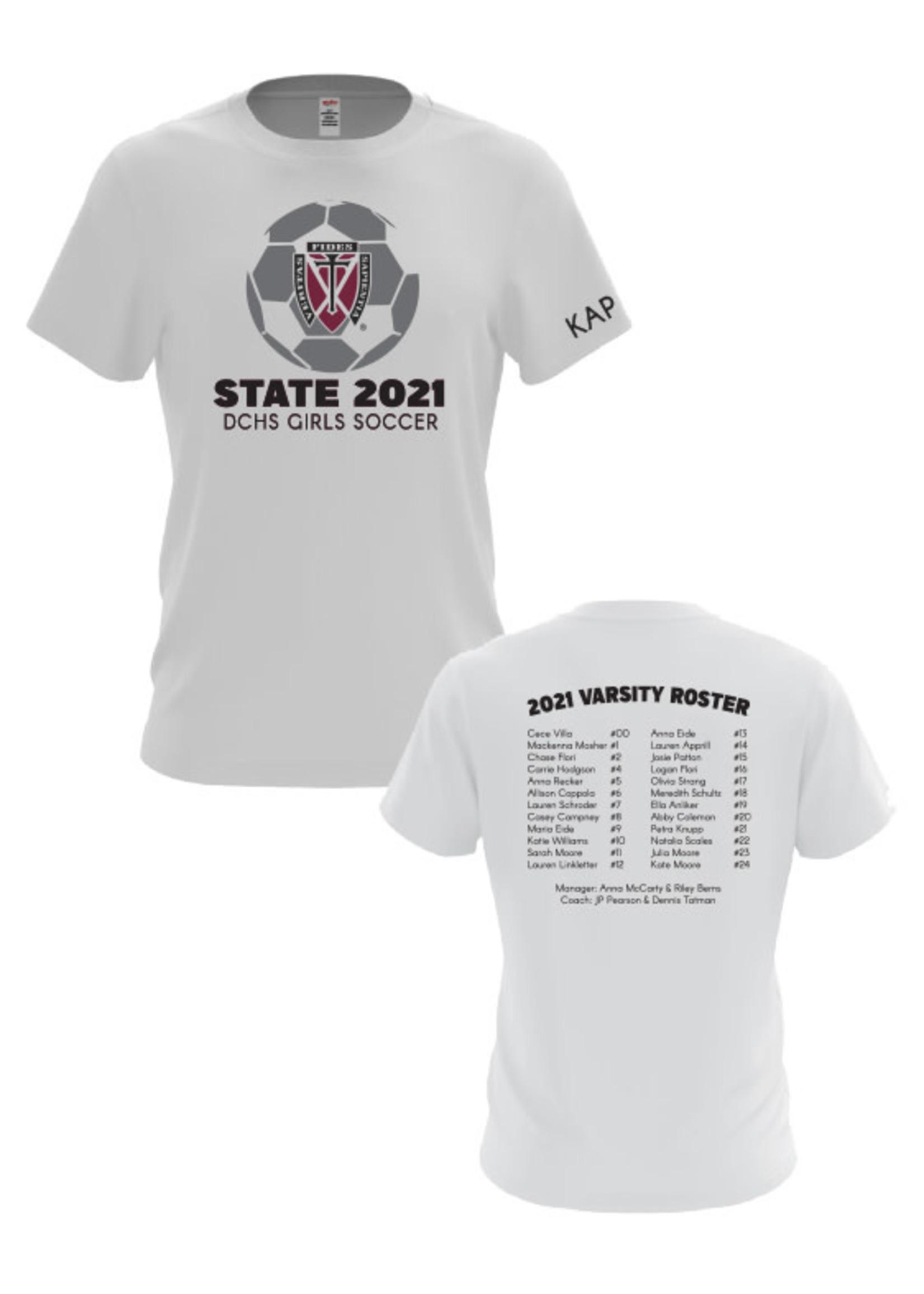 Gildan 2021 Girls State Soccer T-Shirt