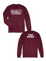 Hane's 2021 Vanguard  PEP BAND  Eat, Sleep, March Long Sleeve Shirt