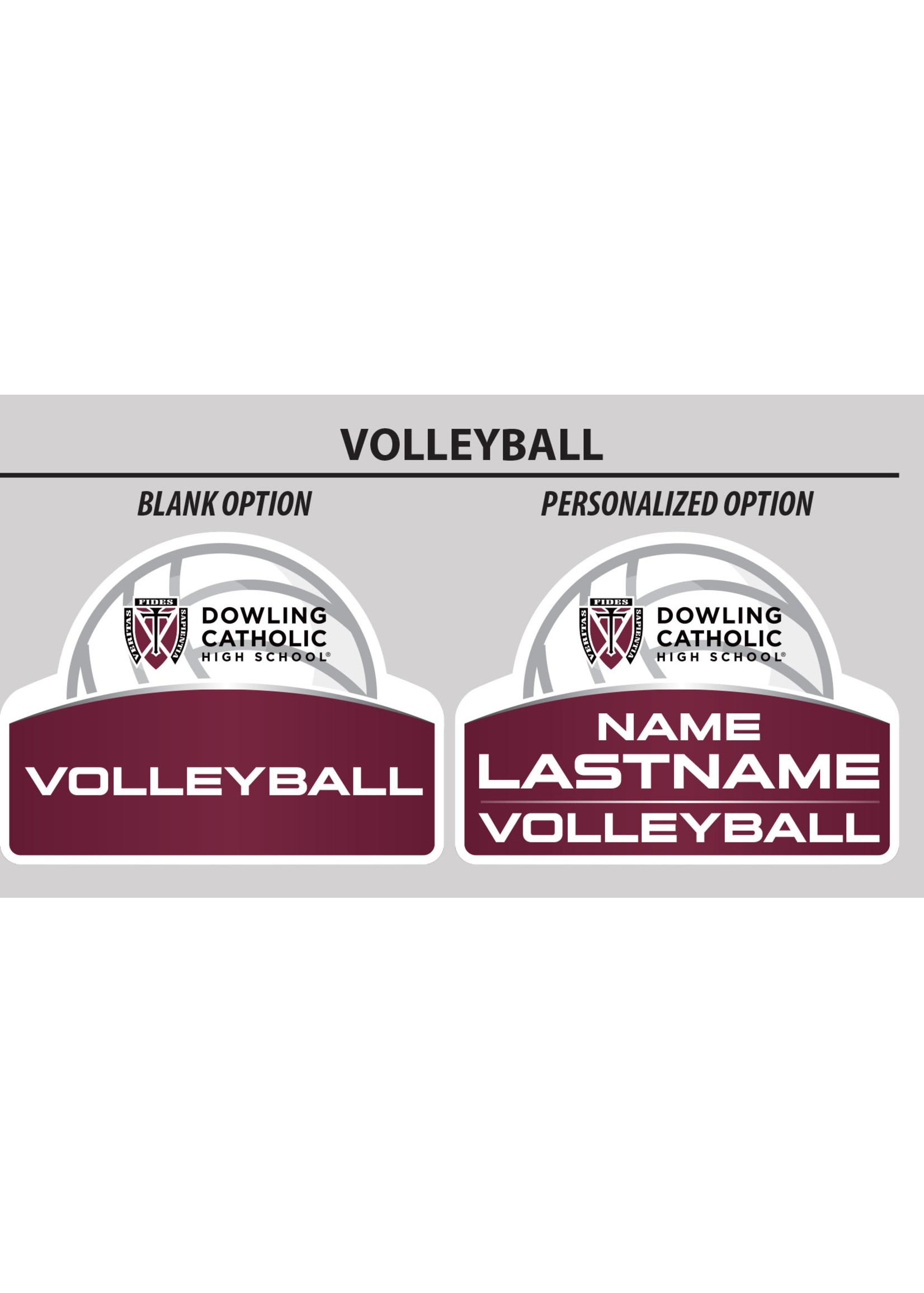2021 Volleyball Yard Sign