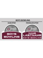 2021 Boys Bowling Yard Sign