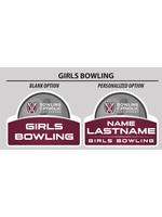 2021 Girls Bowling Yard Sign