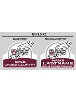 2021 Girls Cross Country Yard Sign