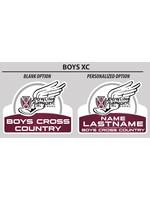 2021 Boys Cross Country Yard Sign
