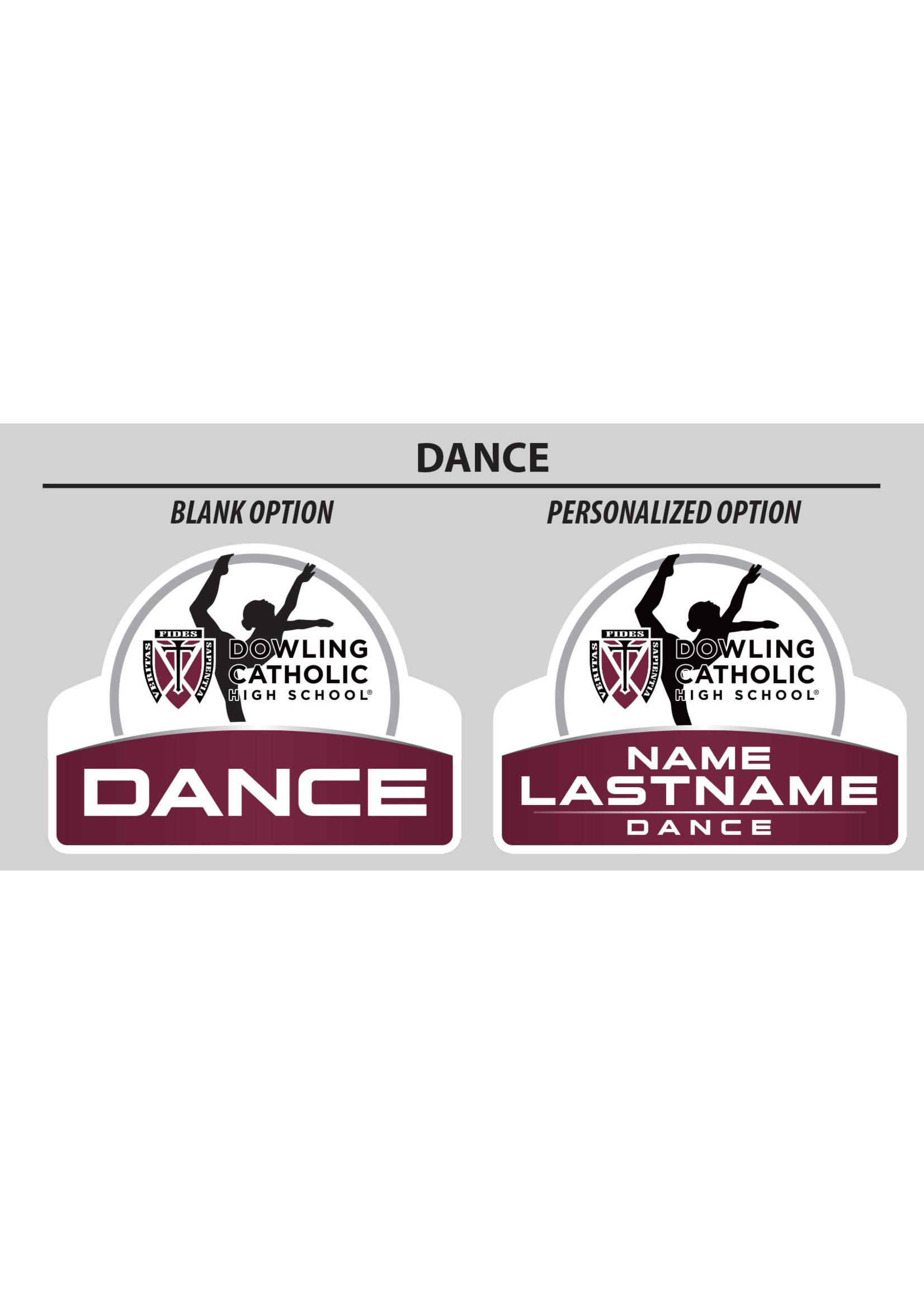 2021 Dance Yard Sign