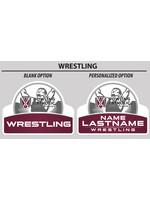2021  Wrestling Yard Sign
