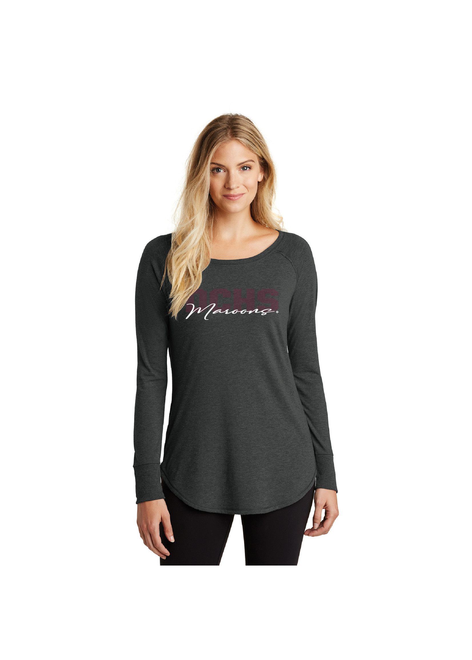 District District Women's Perfect Tri Long Sleeve Tunic
