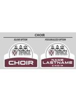 2021 Choir Yard Sign