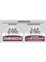 2021 Dimensions Yard Sign