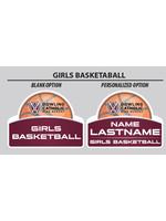 2021 Girls Basketball Yard Sign