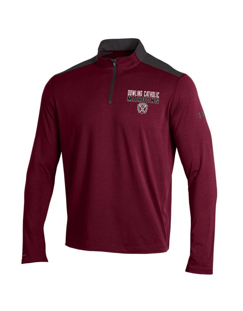 9a5bf2cf Under Armour Men's Cotton 1/4 Zip Tee - Dowling Catholic Campus Store