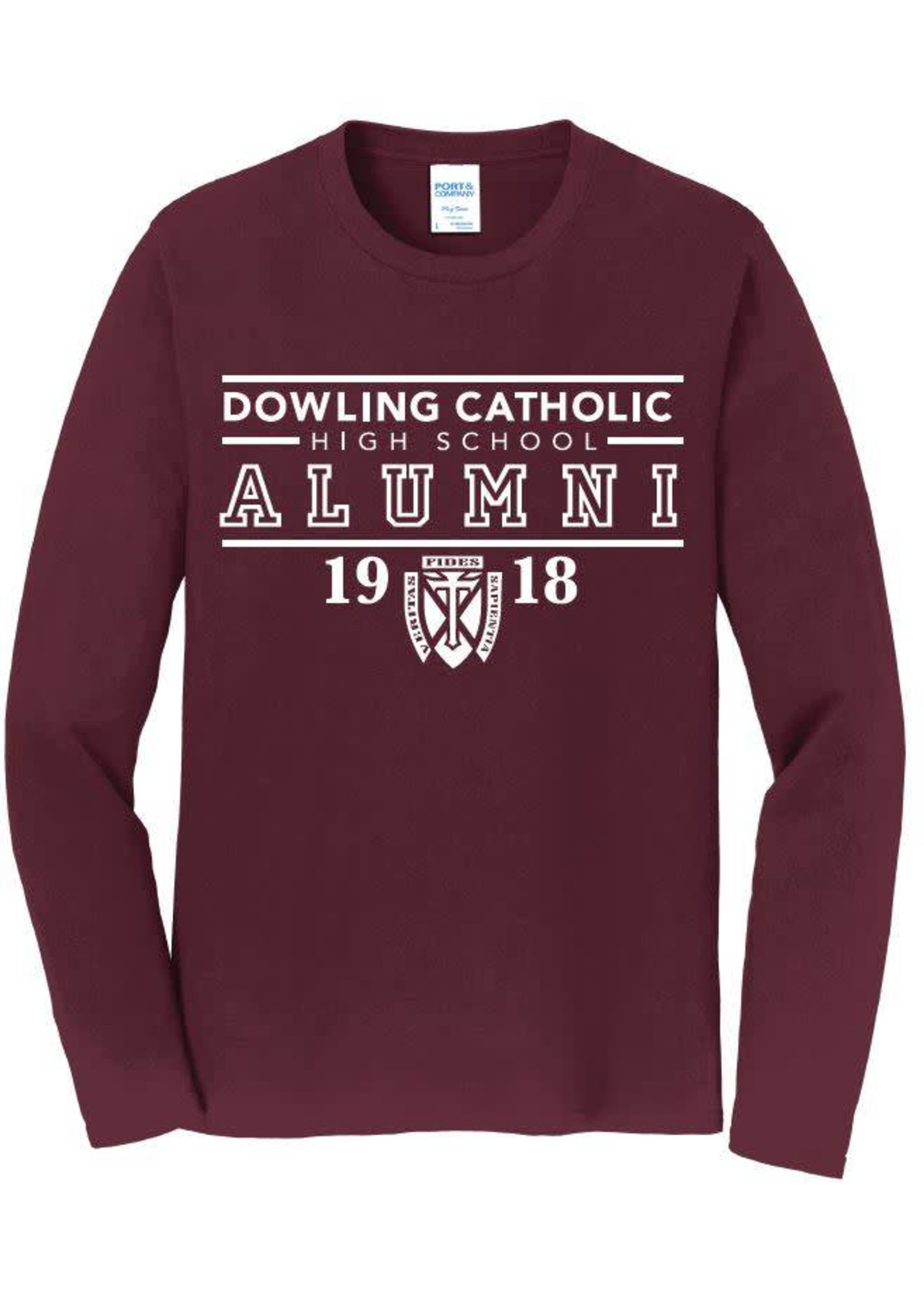 Port Authority Alumni L/S Tee