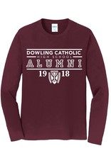 Port Authority Alumni Tee L/S 2XL