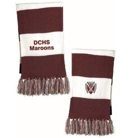 Sport-tek Maroon & White Scarf