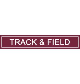 Spirit Signs Spirit Sign Track & Field Rider