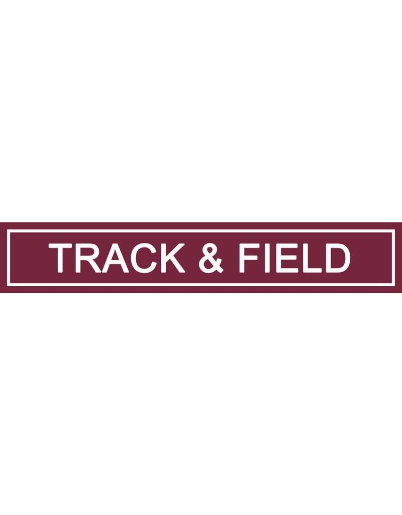 Spirit Signs Spirit Sign Track & Field Rider
