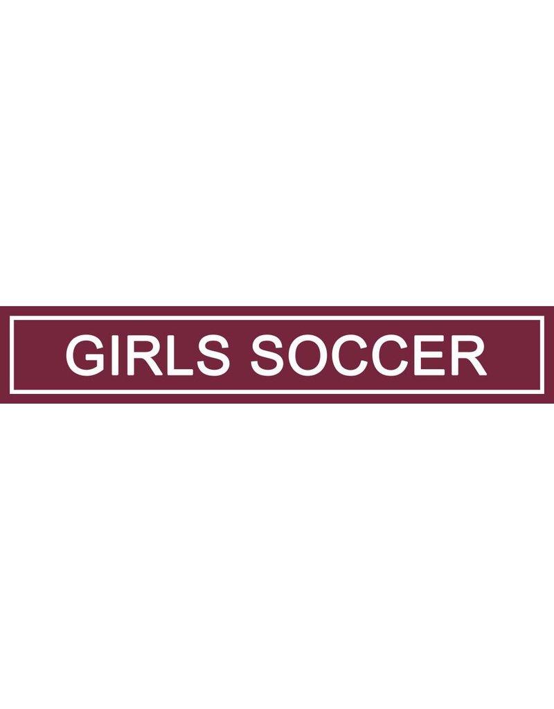 Spirit Signs Spirit Sign Girls Soccer Rider