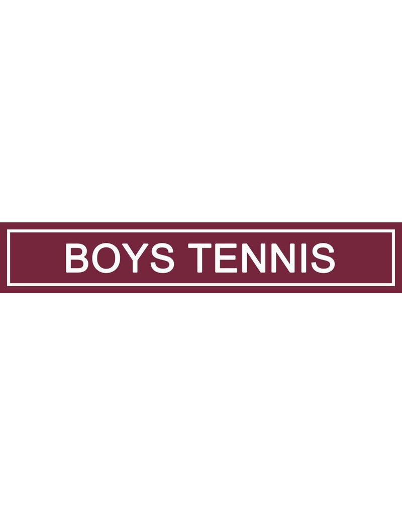 Spirit Signs Spirit Sign Boys Tennis Rider