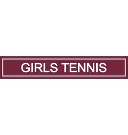 Spirit Signs Spirit Sign Girls Tennis Rider