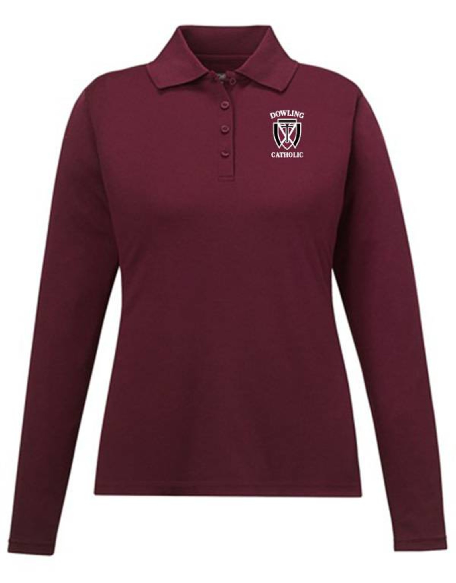 Core Women's Long Sleeve Performance Polo - ONLINE