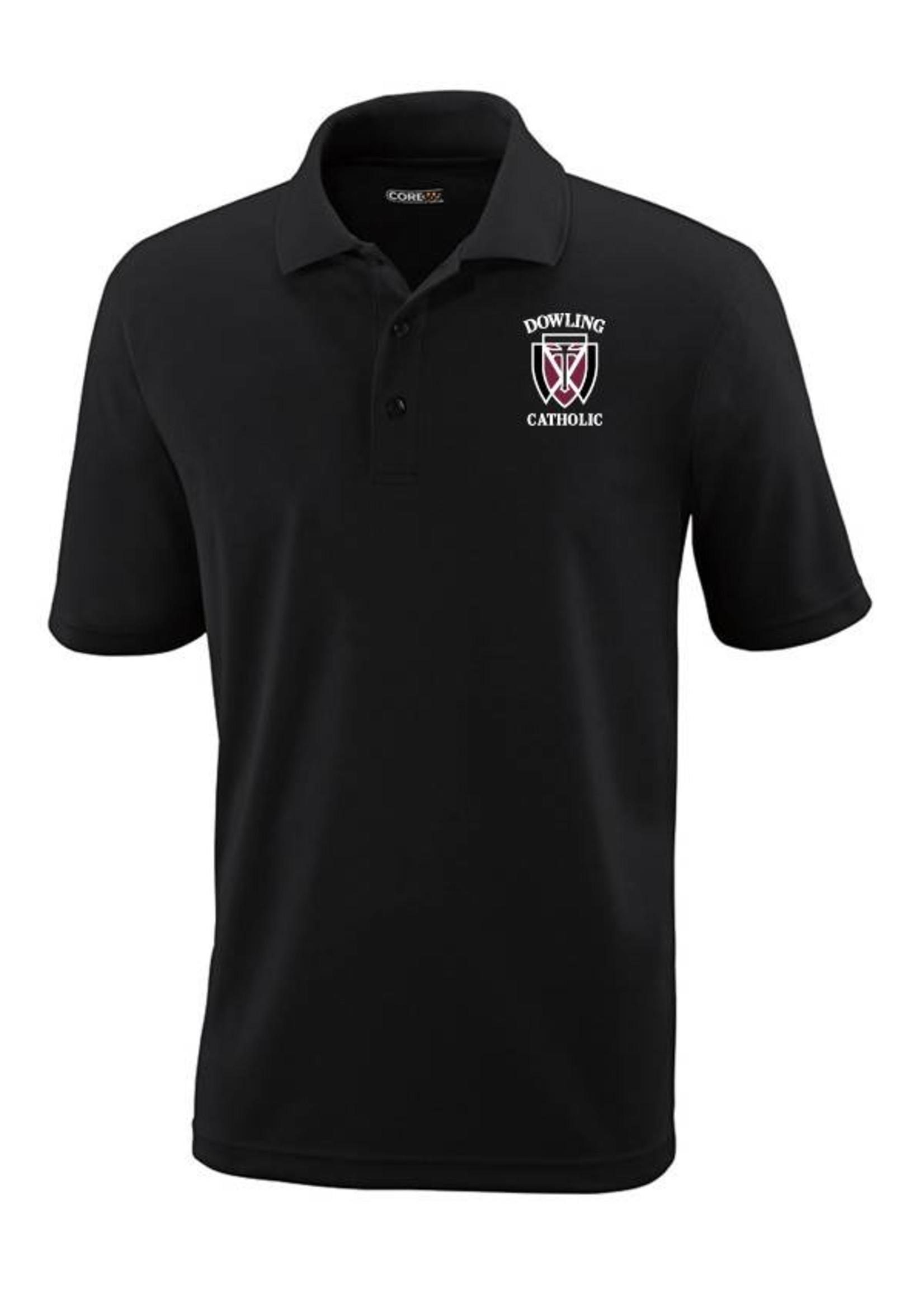 Core Men's Short Sleeve Performance Polo EXTENDED SIZES - ONLINE