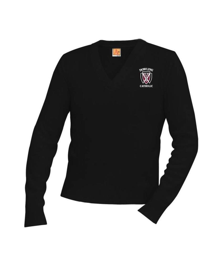 a08ba0d62 A+ Sweaters Unisex V-Neck Sweater - ONLINE