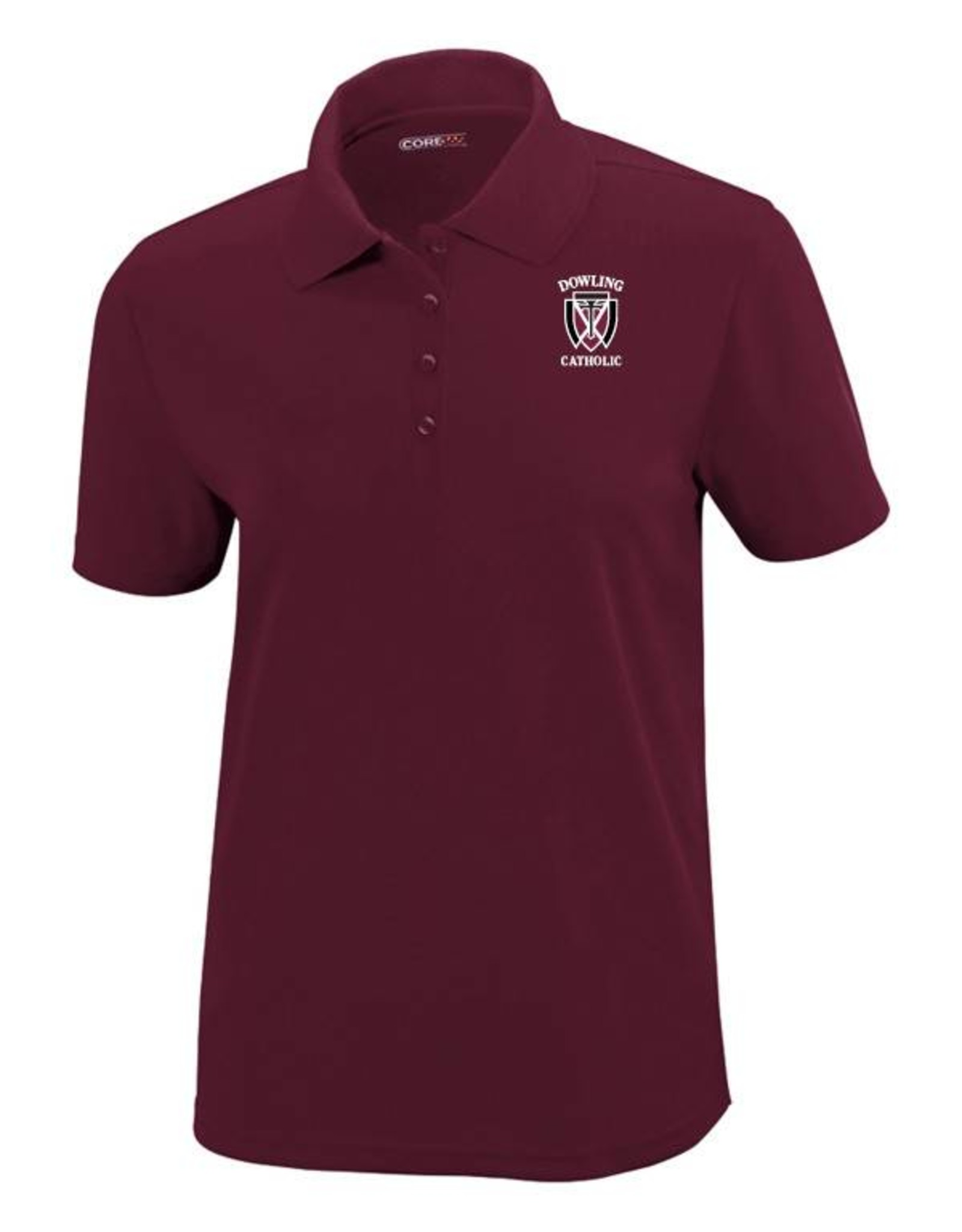 Core Women's Short Sleeve Performance Polo - ONLINE