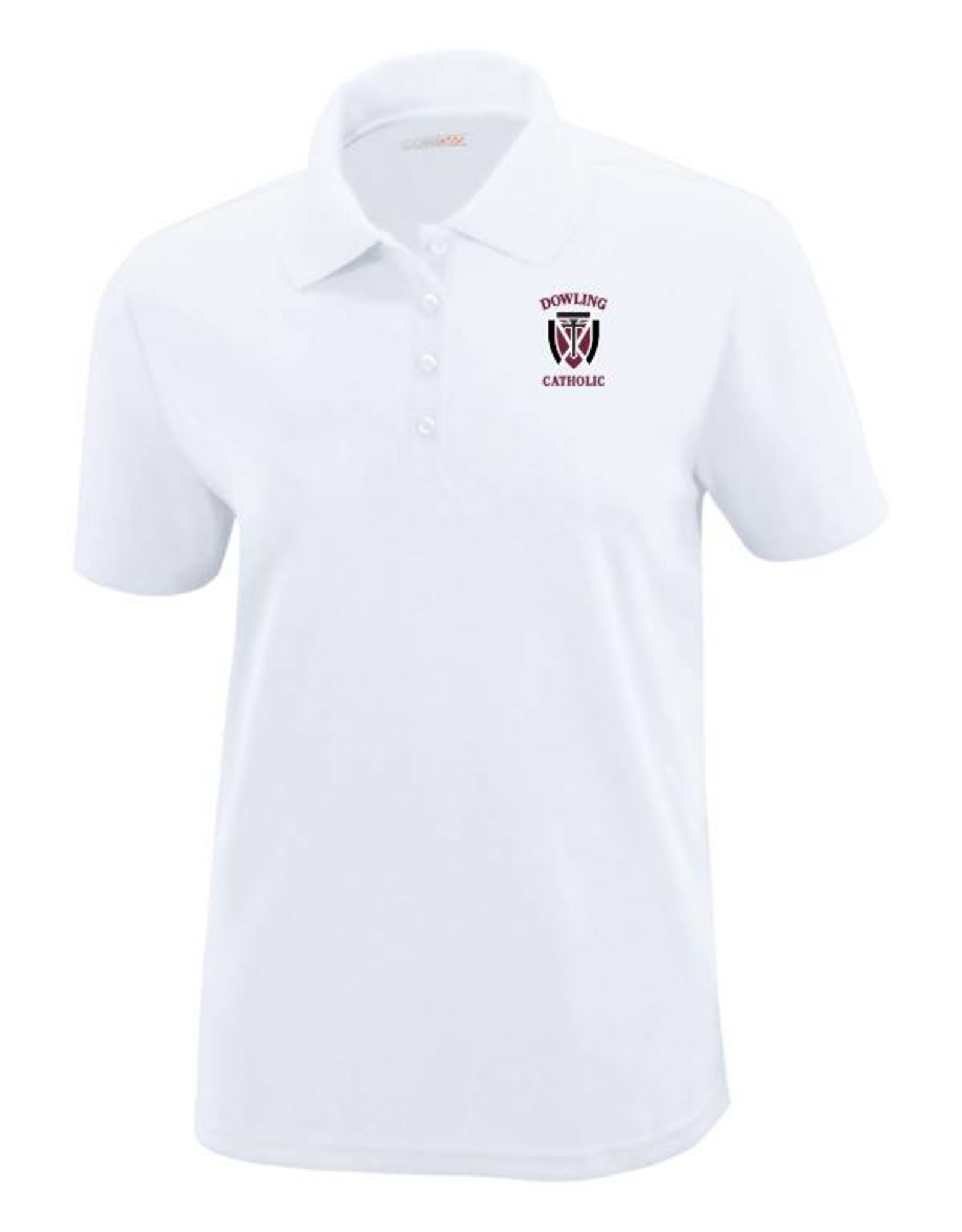 Core EXTENDED SIZE Women's Short Sleeve Performance Polo  - ONLINE