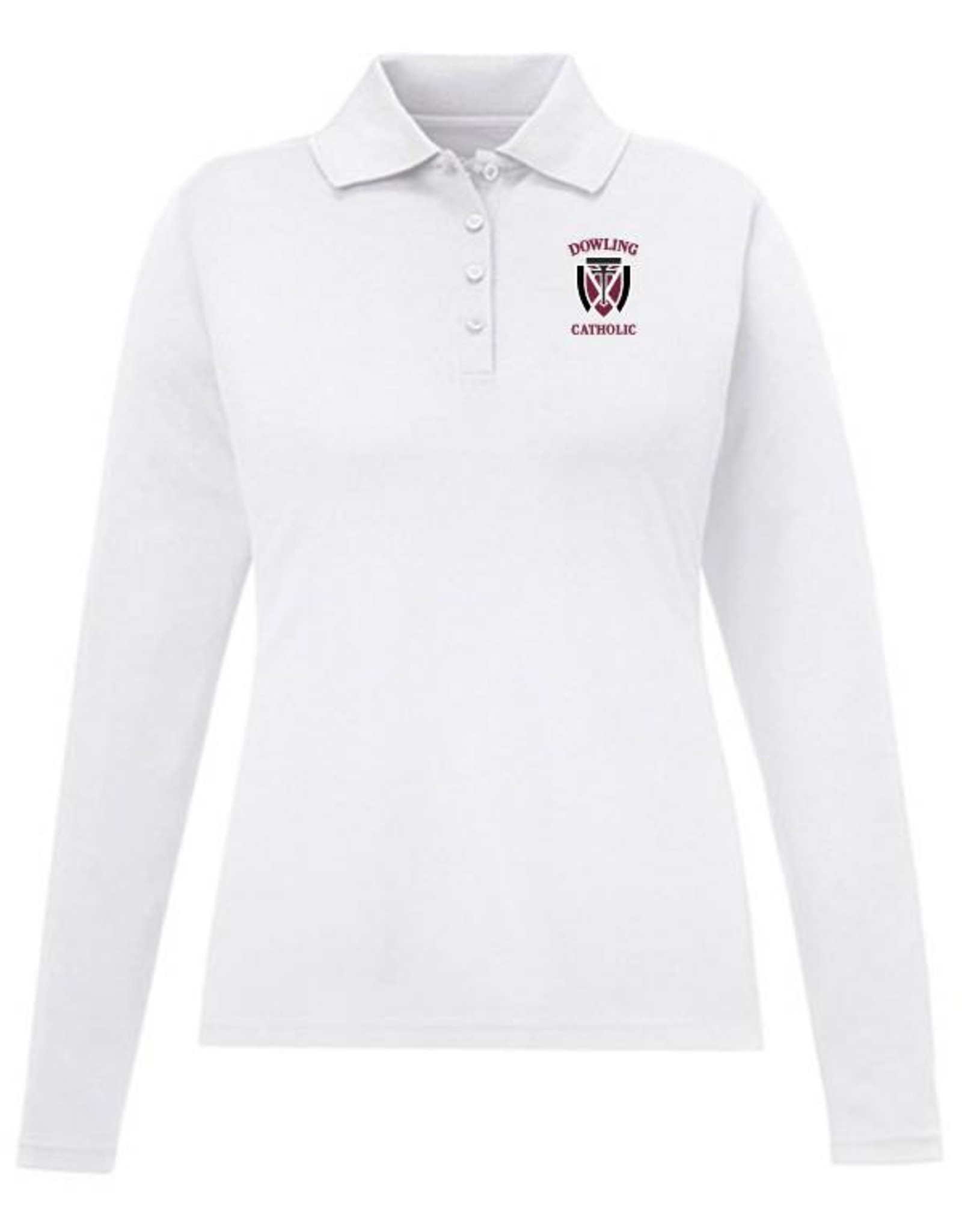 Core EXTENDED SIZE  Women's Long Sleeve Performance Polo - ONLINE