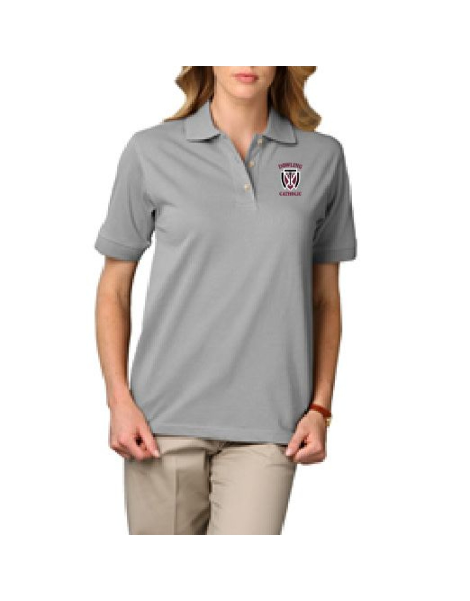 Blue Generation Women's Short Sleeve Cotton Polo - ONLINE