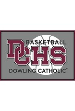 Accessories Dowling Catholic Car Decal Basketball