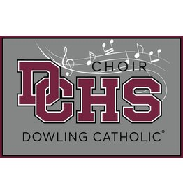 Accessories Dowling Catholic Car Decal Choir