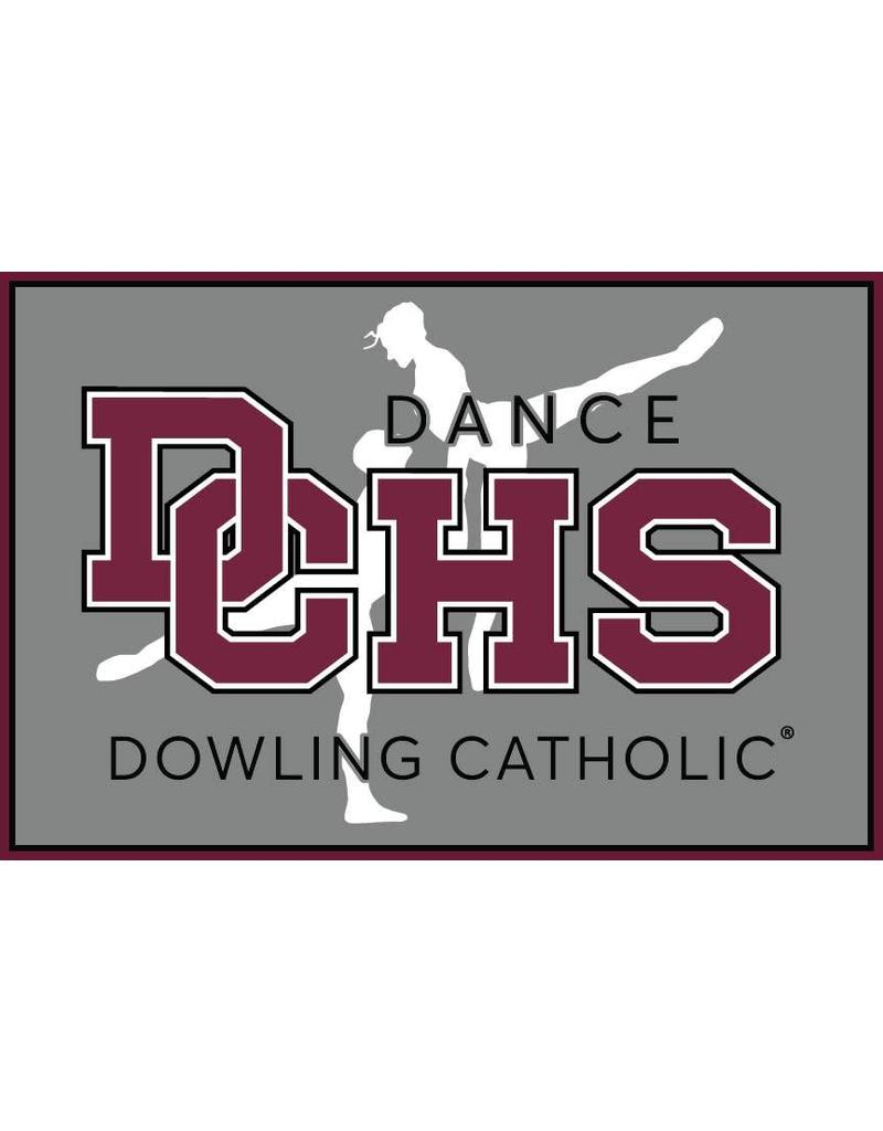 Accessories Dowling Catholic Car Decal Dance
