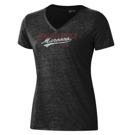 Gear Gear Women's Tri-Blend V-Neck Tee