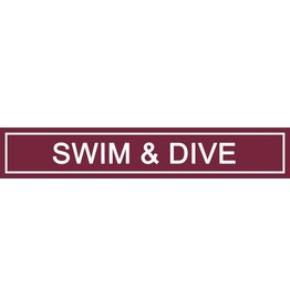 Spirit Signs Spirit Sign Swim & Dive Rider