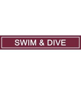 Spirit Signs Spirit Sign Swim & Dive Rider