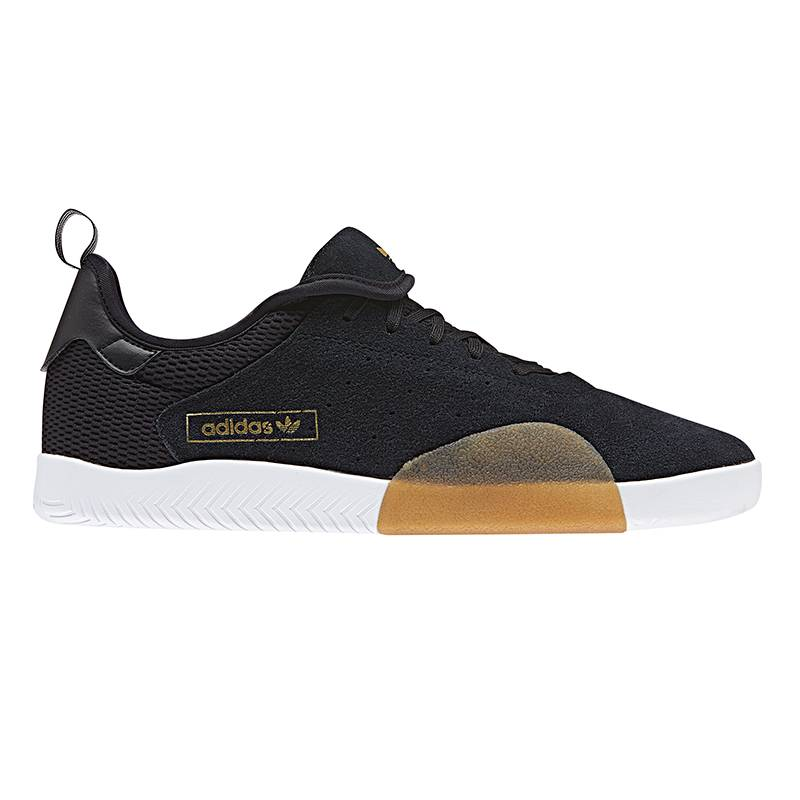 buy online 6b790 c4ea3 ADIDAS 3ST.003 CORE BLACK - Bluetile Skateboards