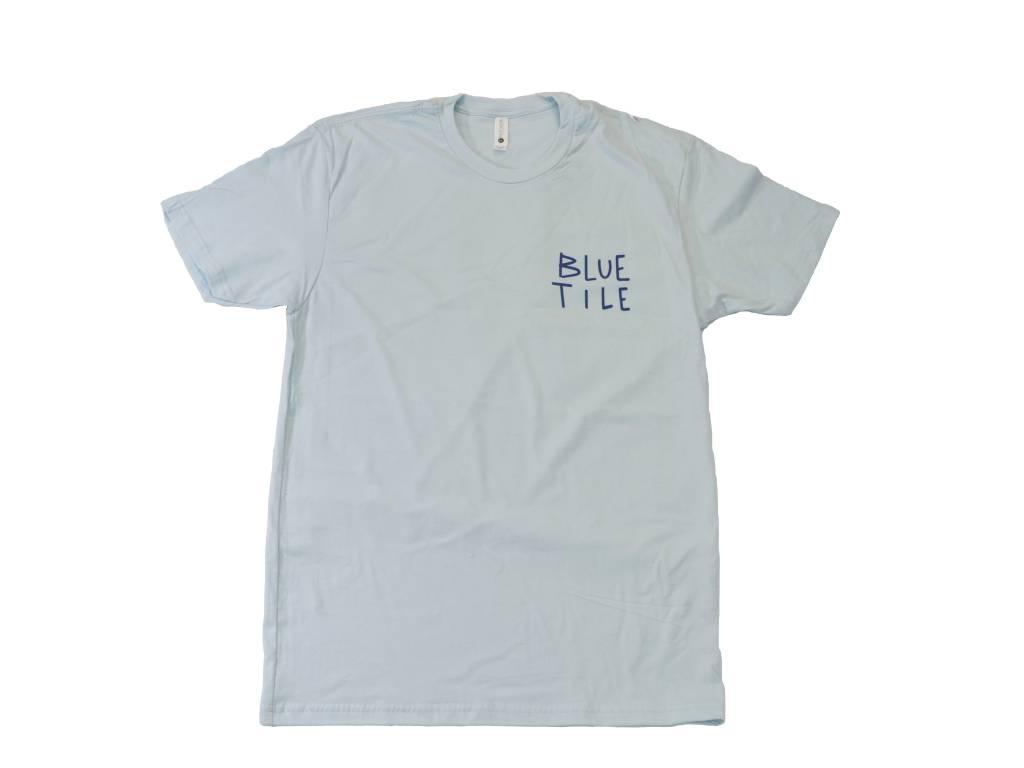 BLUETILE BLUETILE LOVE LETTER T-SHIRT LIGHT BLUE