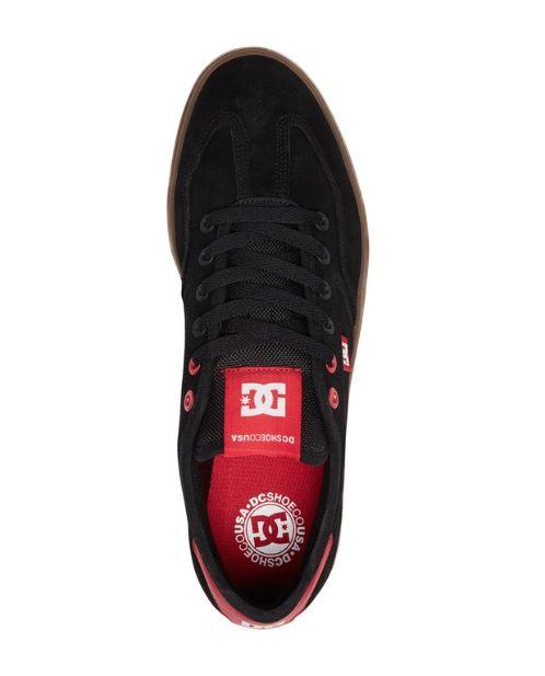 DC DC SHOES VESTREY BLACK / RED / GUM