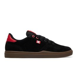 DC DC SHOES VESTREY BLACK / RED / GUM