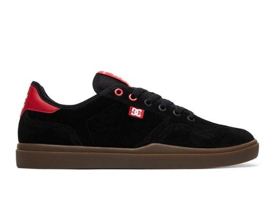 DC SHOES VESTREY BLACK   RED   GUM - Bluetile Skateboards dfde7083e0