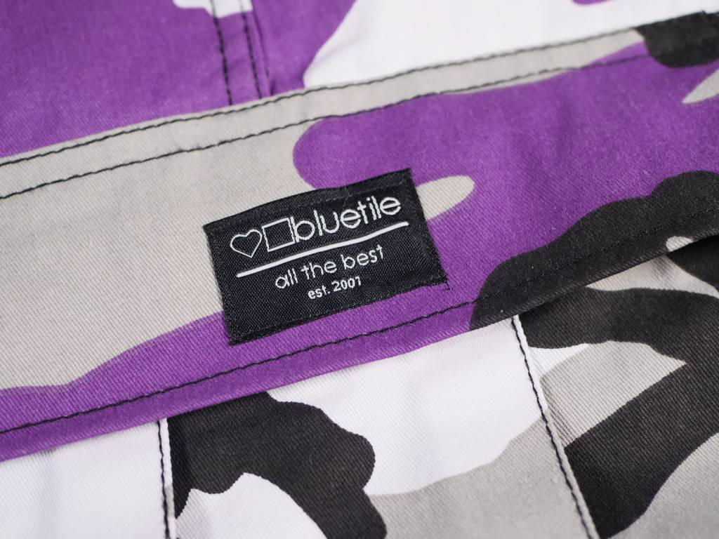 BLUETILE BLUETILE SURPLUS CARGO PANT ULTRA VIOLET PURPLE
